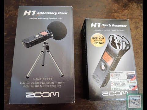 Zoom H1 V2.0 Grabadora de voz + accesorios, review en español