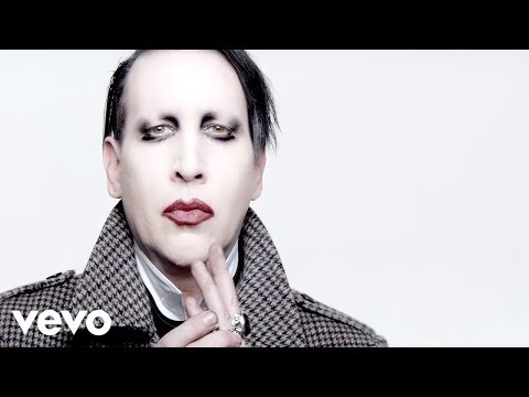 Something is. marilyn manson performs oral sex