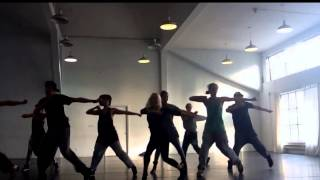 Dance rehearsal Dance All Nite Music video ANJA with Blueprint dance crew