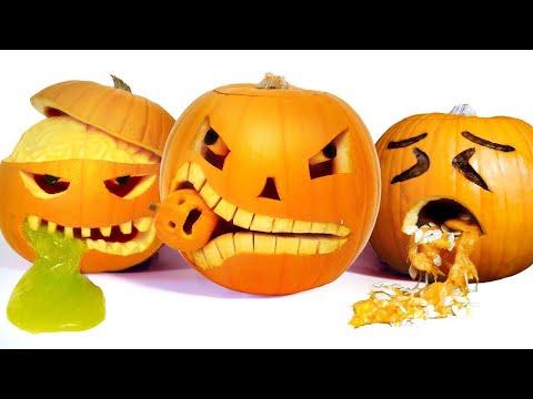 10 Halloween Pumpkin Carving Ideas