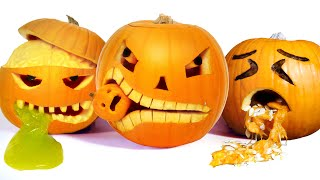 10 Awesome Halloween Pumpkin Carving Ideas thumbnail