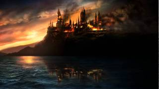 Harry Potter and the Deathly Hallows - Burning Hogwarts