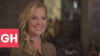 At Home with Katherine Heigl | Behind the Scenes | GH