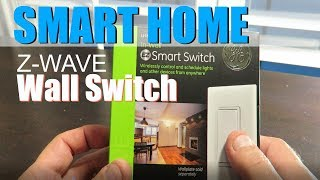 SmartHome Z-Wave GE Wall Switch:  YOU NEED THIS!