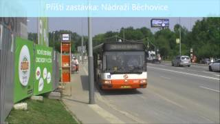 preview picture of video 'Linka 250 - Obchodní centrum Černý Most - Irisbus Citybus'