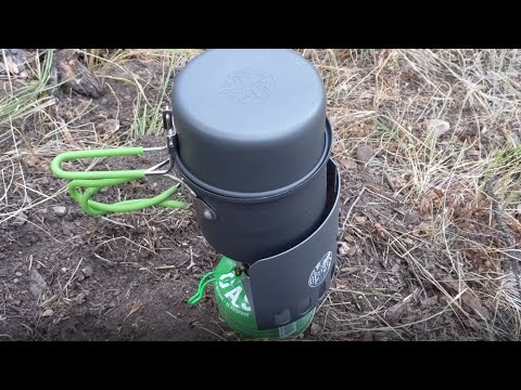 Optimus Crux Lite Camp Stove with Terra Solo Cookset Review by MUDD CREEK