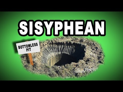 🕳️ Learn English Words: SISYPHEAN - Meaning, Vocabulary with Pictures and Examples