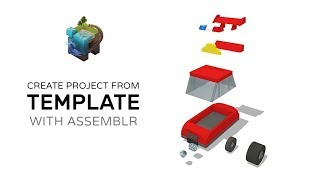 How to Create a Car from template project With Assemblr