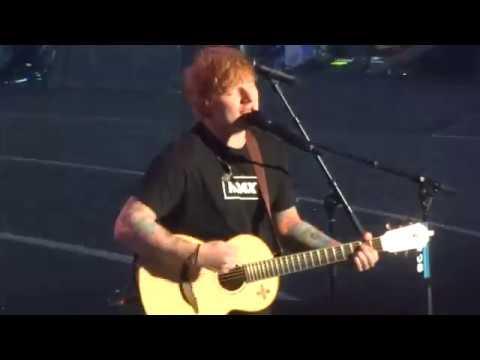 99.7 NOW Poptopia - Ed Sheeran - Castle on the Hill (Clip) - San Jose, CA - [HD]