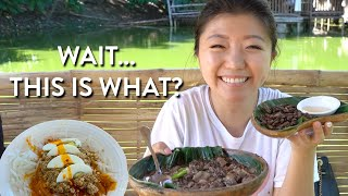 First time trying FILIPINO FOOD like THIS 😱! Pampanga Philippines Food Tour