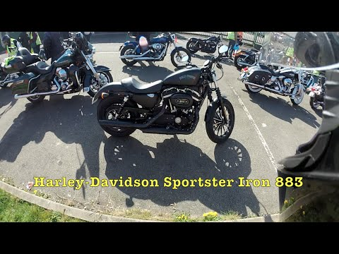Test Riding the 2015 Harley Davidson Sportster Iron 883 XL883N