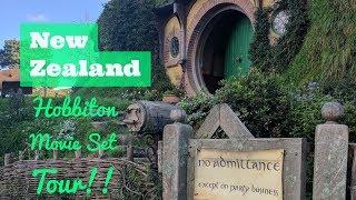 Epic 28-Day Honeymoon - New Zealand - Hobbiton Movie Set Tour