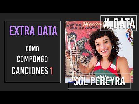 Sol Pereyra video Como compongo mis canciones - # DATA / 2021