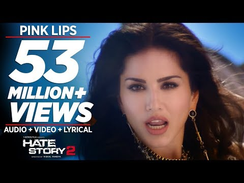 pink lips full video song sunny leone hate story 2 mee