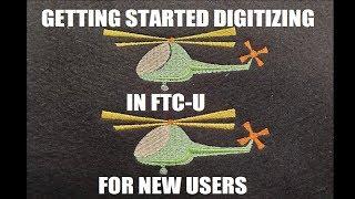 Digitize your first design in FTC-U!