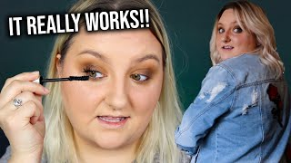 TESTING YOUR EYELASH RECOMMENDATION! + MAKEUP LOOK & THRIFT HAUL