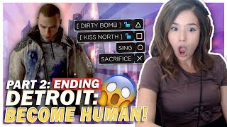 WTF!? The CRAZIEST Ending? Detroit: Become Human Part 2/2!