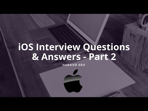 Ios Interview Questions And Answers Pdf