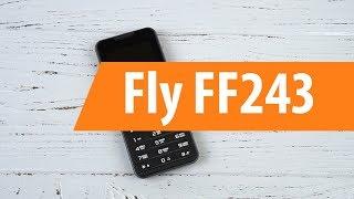 Мобильный телефон Fly FF243 (Black) от компании Cthp - видео 2