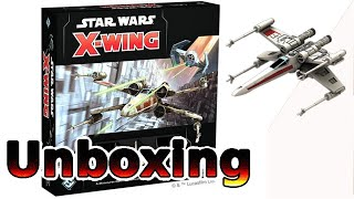 X Wing 2.0 Second Edition Unboxing German