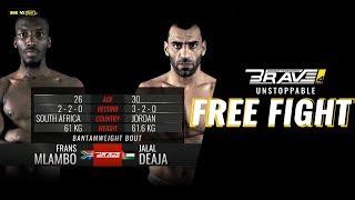 Brave 4 Free Fight: Frans Mlambo vs Jalal Al Daaja
