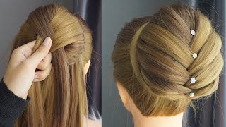 How To Messy Bun Hairstyle 💜 Easy & Perfect Tutorials | Easy Hairstyle For Wedding And Party