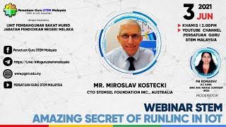 Webinar PGSM : Amazing Secret of Runlinc in IOT