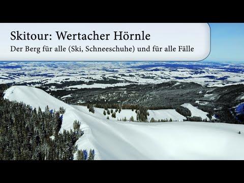 Skitour: Wertacher Hörnle - ein Berg für alle (Ski, Schneeschuhe) und für alle Fälle