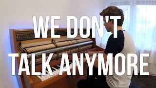 Charlie Puth & Selena Gomez - We Don't Talk Anymore (Piano cover) - Peter Buka