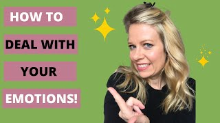 SUPPRESSED EMOTIONS: HOW TO PROCESS YOUR FEELINGS AND LET THEM GO TO HEAL!