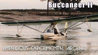 Buccaneer II Amphibious experimental aircraft from Advanced Aviation.