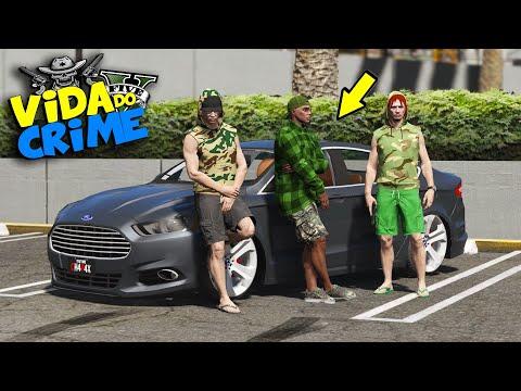 GTA V : VIDA DO CRIME -  COMPREI UM FUSION PRO BONDE BALA BALA #11