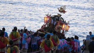 能登の祭り輪島大祭・奥津比咩神社・海士町入水神事2017