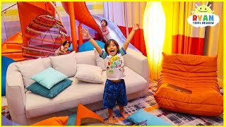 Worlds Largest Cruise Ship Room Tour!! Royal Caribbean Symphony Of The Seas Ultimate Family Suite
