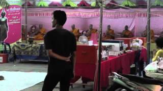 preview picture of video 'Loi Krathong, Wat Tua Tong, Pathum Thani'