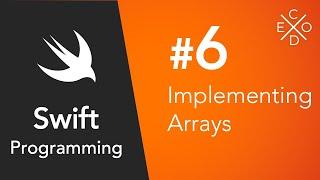 Swift 4 Programming #6 - Arrays
