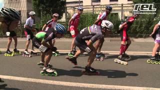 preview picture of video 'Marathon roller de Compiègne 2013 : la course masculine'