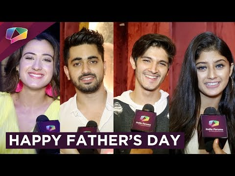 Arishfa Khan, Zain Imam, Rohan, Alisha Give Father's Day Wishes