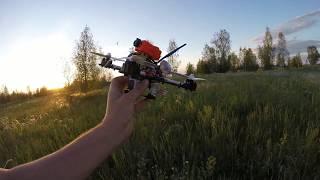 GEPRC Leopard Гоночный квадрокоптер, высотные полёты д.Верхние Караси и Яроткулово