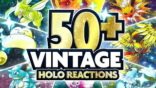 50 AMAZING HOLO POKEMON PULL REACTIONS! Vintage JPN Jungle Break Montage! by aDrive