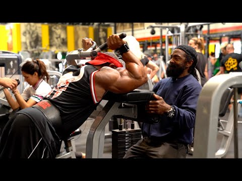 BACK ON THE ROAD TO OLYMPIA 2019 Dexter Jackson & Charles Glass ARM BUSTER 2