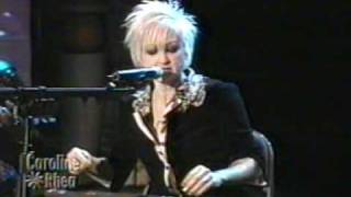 Cyndi Lauper - Time After Time (Live on Caroline Rhea in 2003)