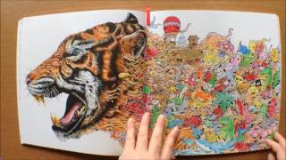 Animorphia By Kerby Rosanes Colouring Book Flipthrough