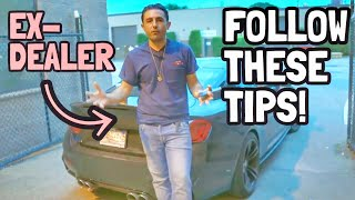 7 things the dealership DOES NOT want you to know!