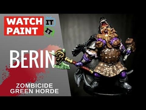 Zombicide Green Horde - Painting Berin