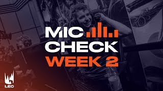 LEC : le Mic Check de la semaine 1 Summer Split