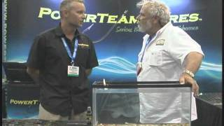ICAST Fishing Show Power team Lures Interview