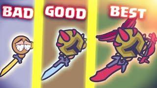 Moomoo.io BEST BUILD Bloodthirster + Bl☮☮d Wings + Katana! BOOST VS TRAP