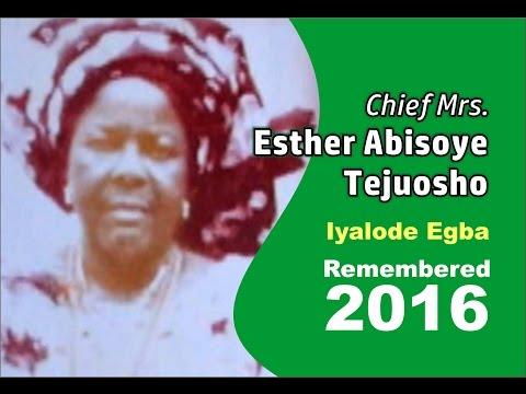 Iyalode Abísóyè Tẹjuosho Celebrated 20 Years After