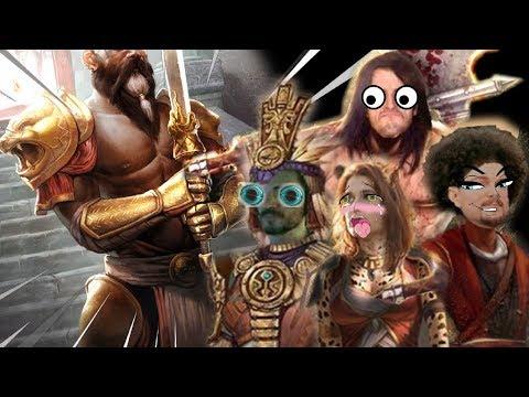 LE MUSCULEUX SAI SAHAN !!! -TESO : Elsweyr- Ep.12 avec Krayn, Desastre & Elyse !!
